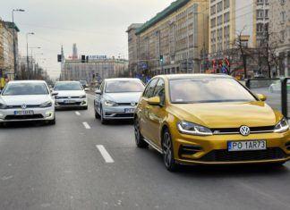 Volkswagen Golf z 4 rodzajami napędu: benzyna (TSI), diesel (TDI), hybryda plug-in (GTE) i prąd (e-Golf)