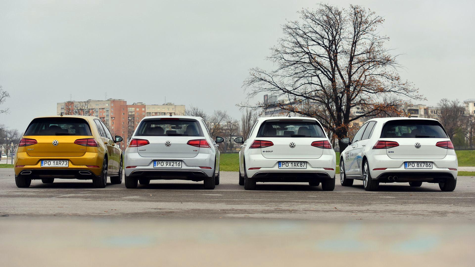 4 x Volkswagen Golf