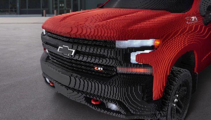 Chevrolet Silverado 1500 LT Trail Boss (2019) z klocków Lego