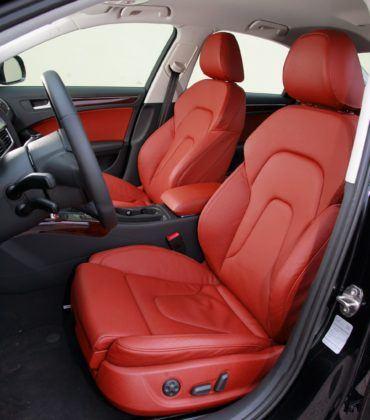 Audi A4 B8 - fotel kierowcy