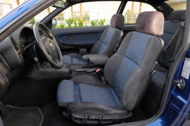 BMW E36 Coupe - fotel kierowcy