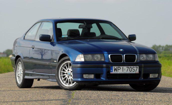 BMW E36 Coupe - przód