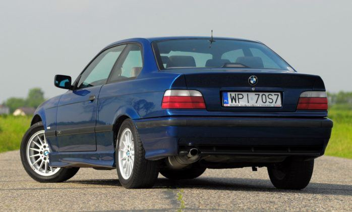 BMW E36 Coupe - tył