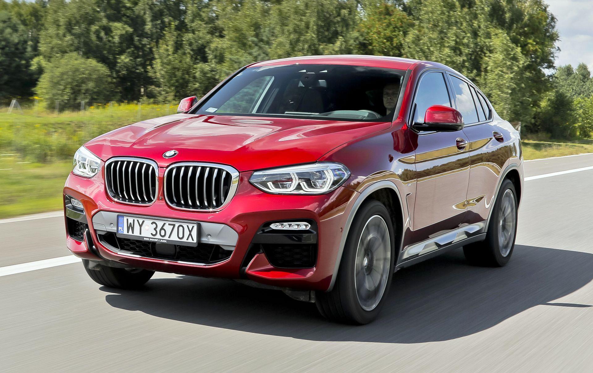 BMW X4 - dynamiczne