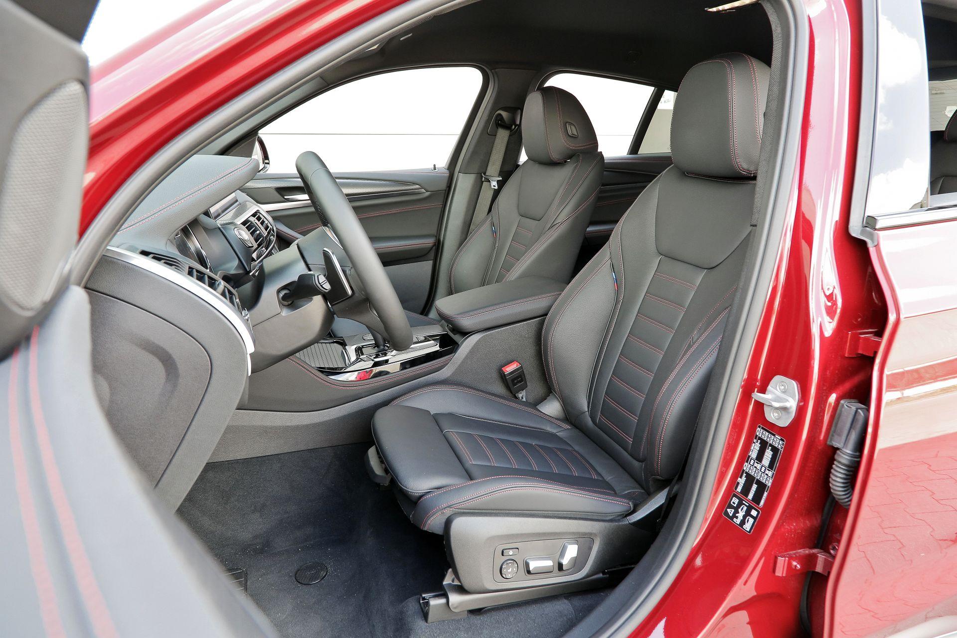 BMW X4 - fotel kierowcy