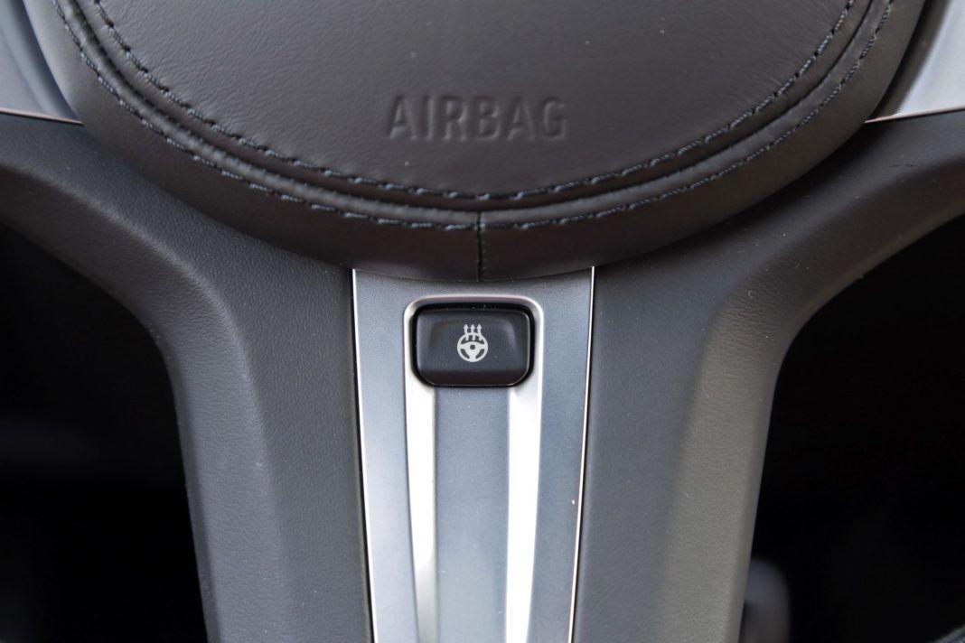 BMW X4 - ogrzewanie kierownicy