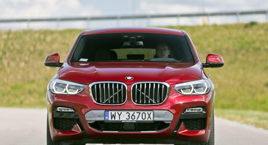 BMW X4 - przód