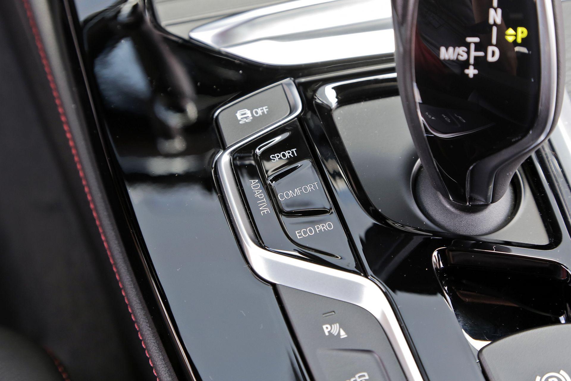 BMW X4 - przyciski