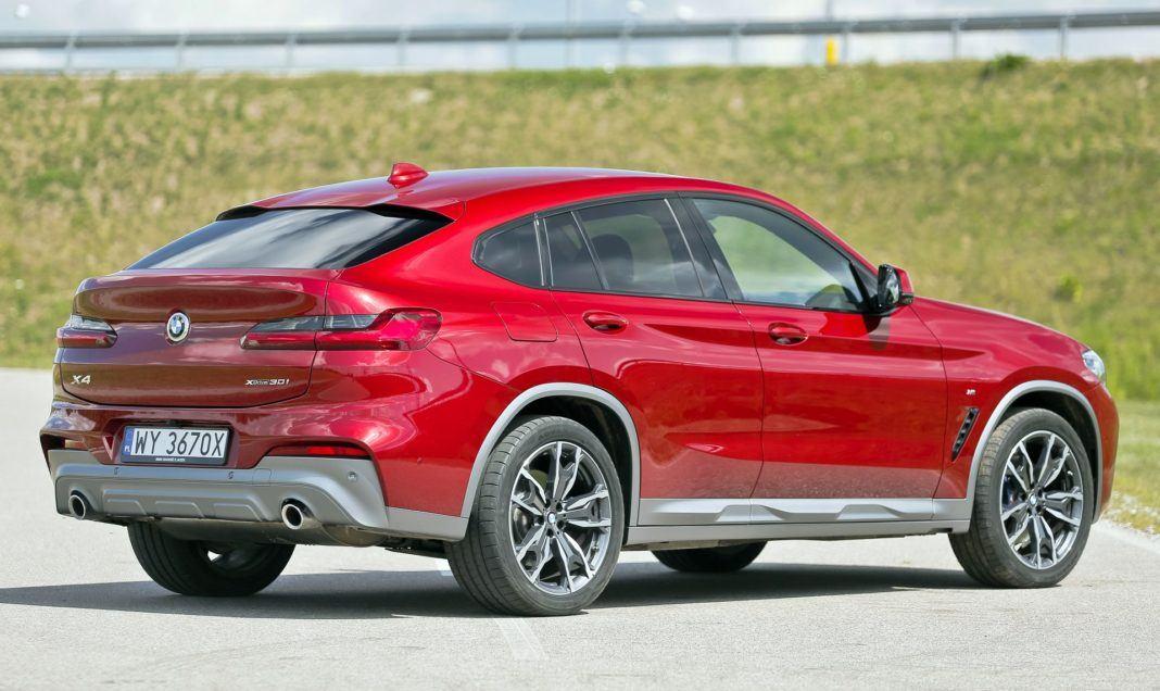 BMW X4 - tył
