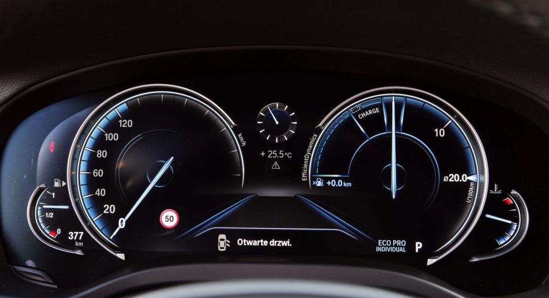 BMW X4 - zegary