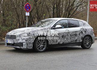 BMW serii 1 - zdjęcia szpiegowskie