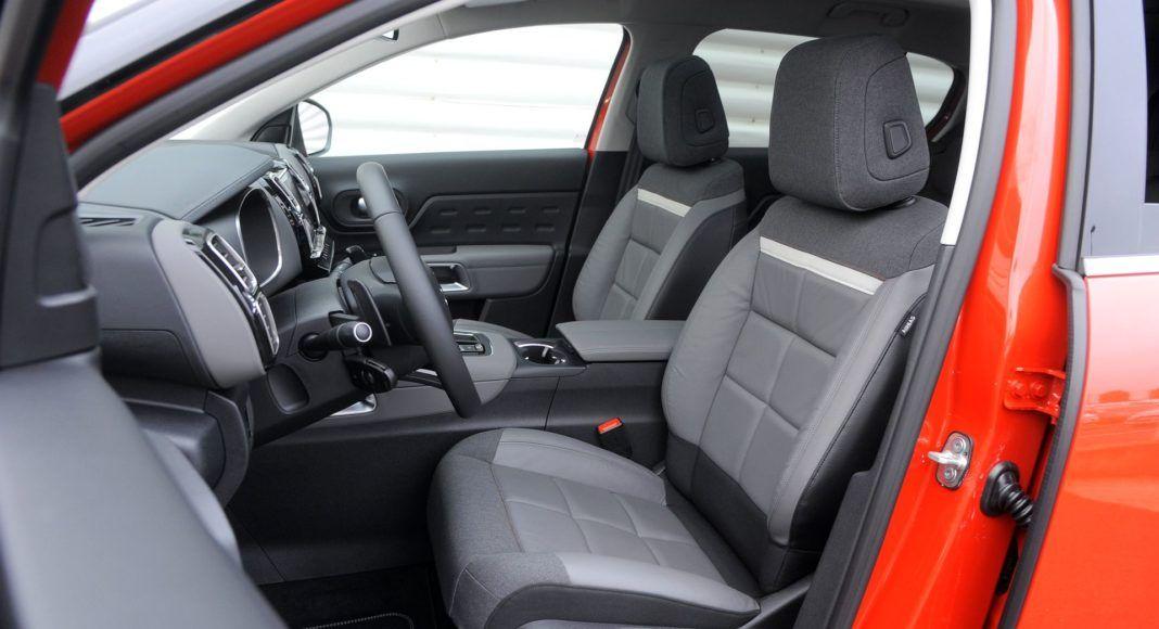 Citroen C5 Aircross - fotel kierowcy