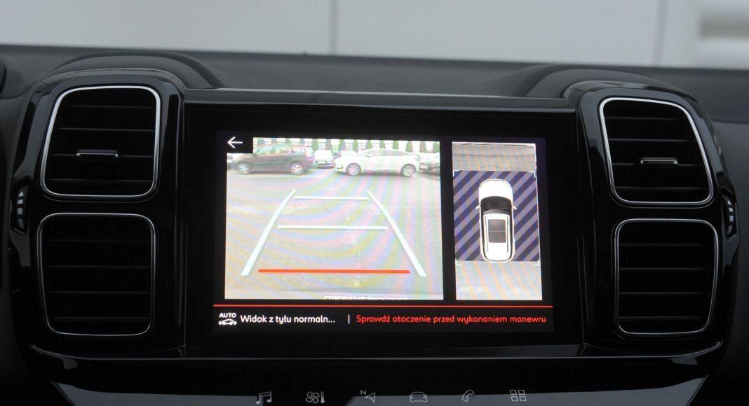 Citroen C5 Aircross - kamera cofania