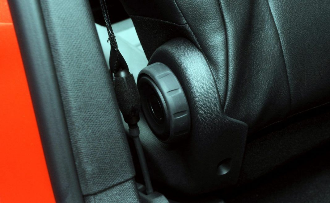 Citroen C5 Aircross - pokrętło
