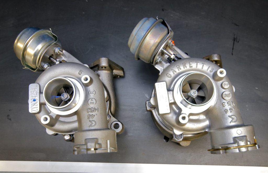 Części z AliExpress - turbosprężarka