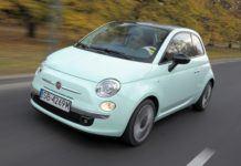 Fiat 500 - otwierające