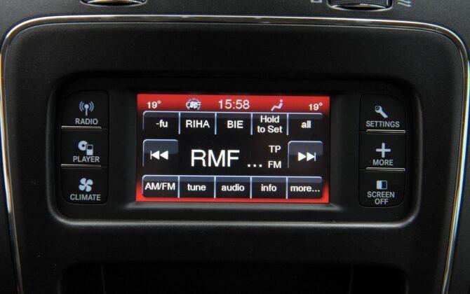 Fiat Freemont ekran