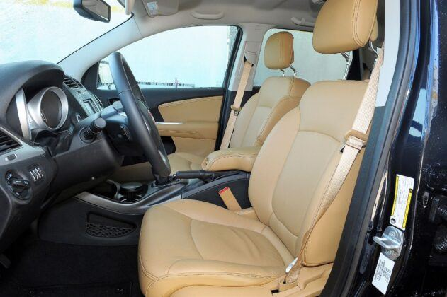 Fiat Freemont fotel kierowcy