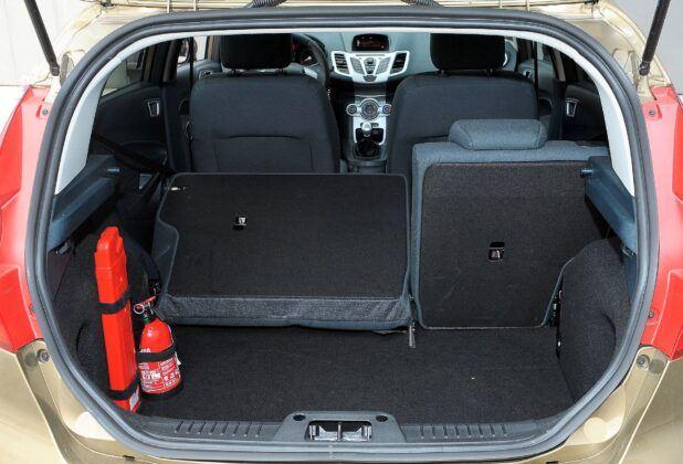 Ford Fiesta VII bagażnik (4)