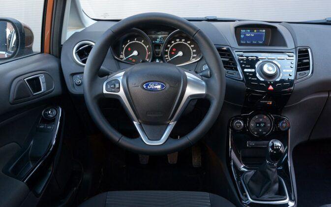 Ford Fiesta VII deska rozdzielcza