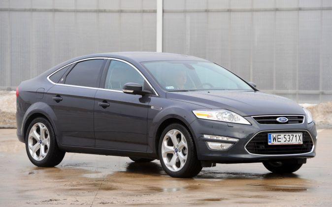 Ford Mondeo IV - przód