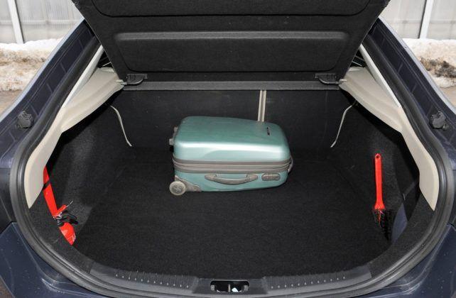 Ford Mondeo IV - bagażnik