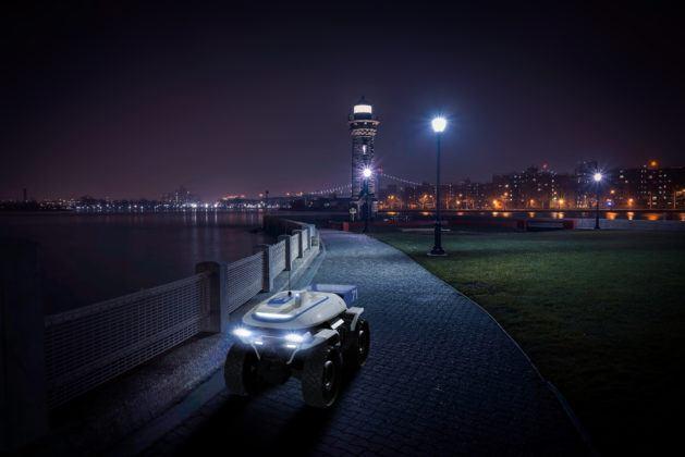 Autonomiczny pojazd ATV