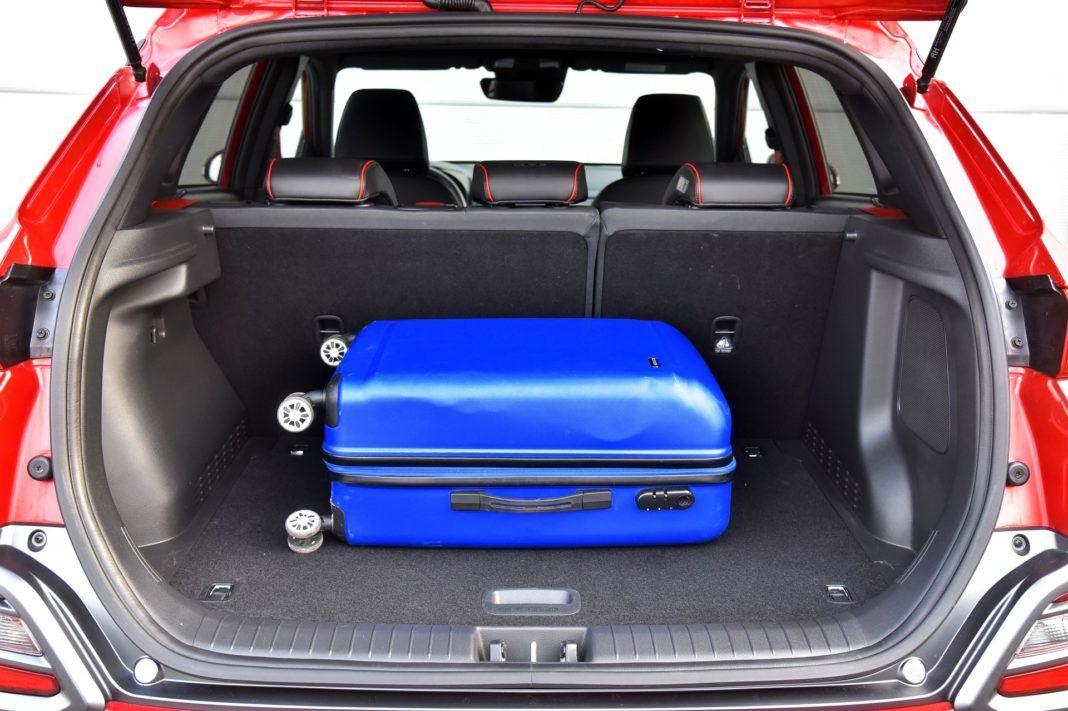 Hyundai Kona - bagażnik