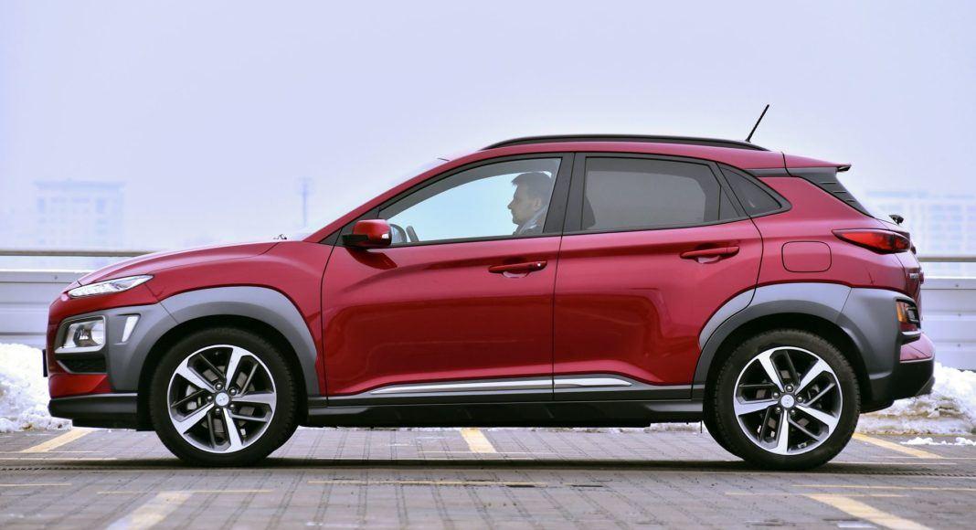 Hyundai Kona - bok
