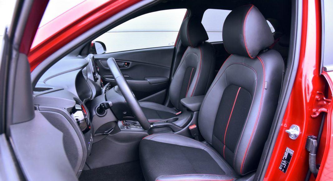 Hyundai Kona - fotel kierowcy