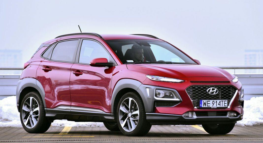Hyundai Kona - przód