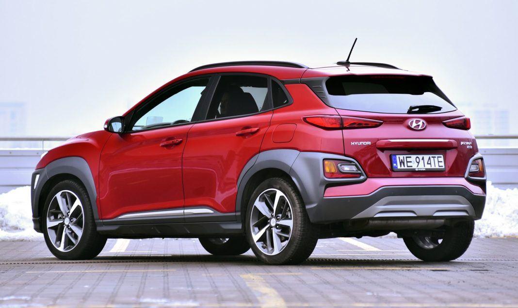 Hyundai Kona - tył