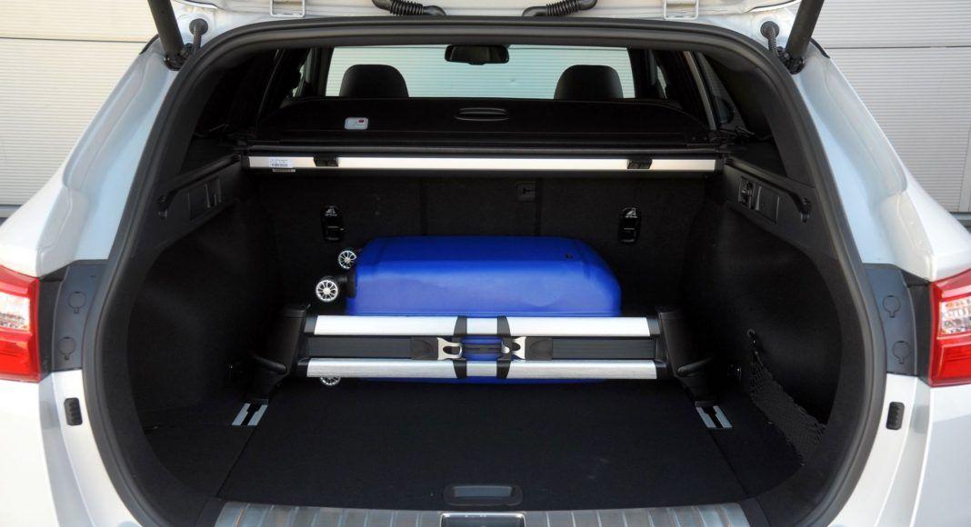Kia Optima - bagażnik