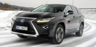 Lexus RX L - dynamiczne