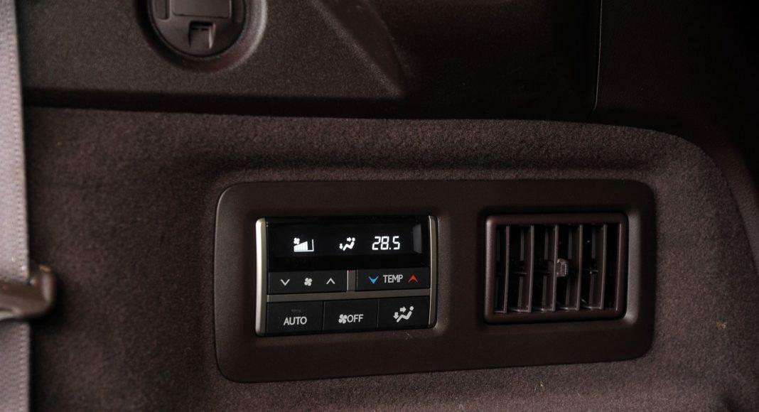 Lexus RX 450hL - klimatyzacja