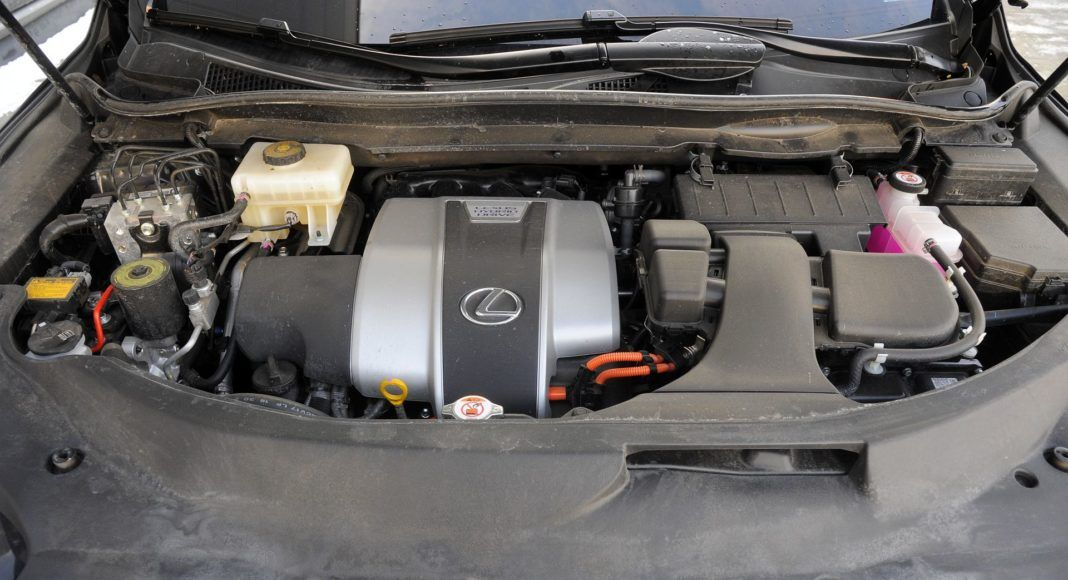 Lexus RX 450hL - silnik