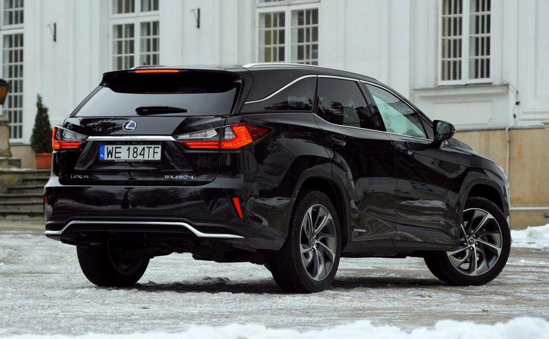 Lexus RX 450hL - tył