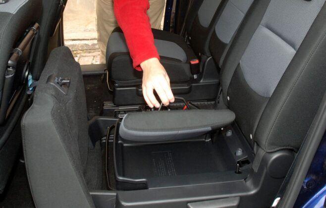 Mazda 5 I siedzisko