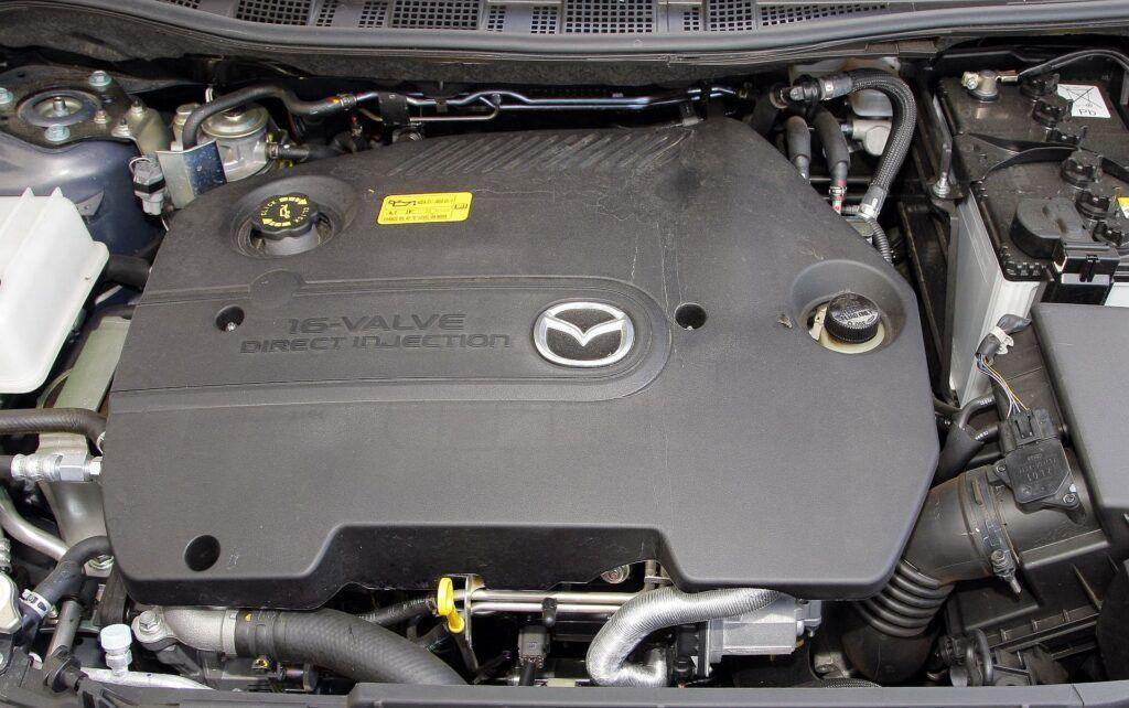 Mazda 5 I silnik
