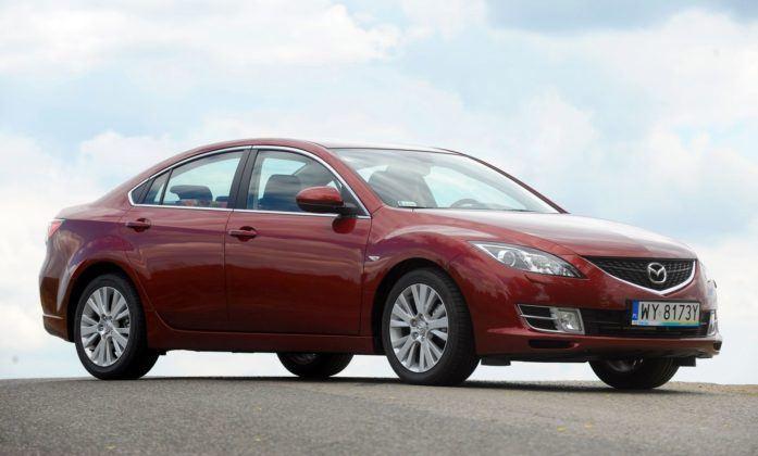 Mazda 6 II - przód