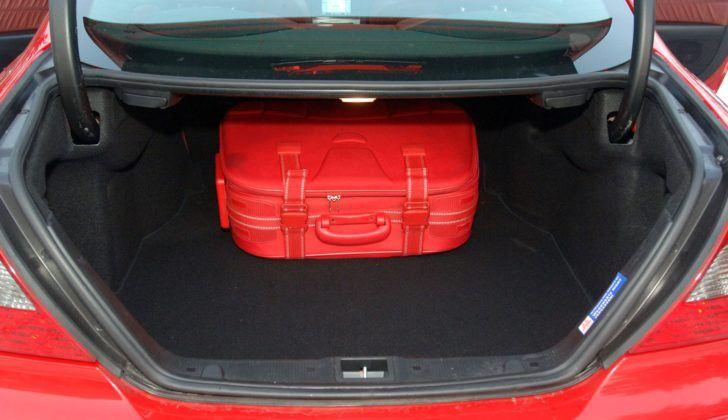 Mercedes CLK - bagażnik