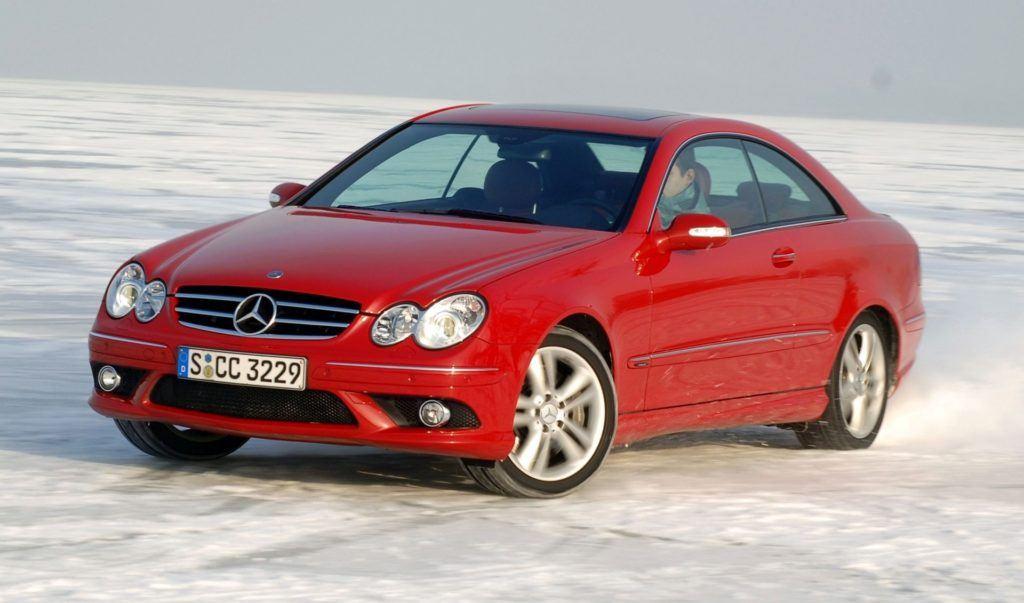 Mercedes CLK - dynamiczne