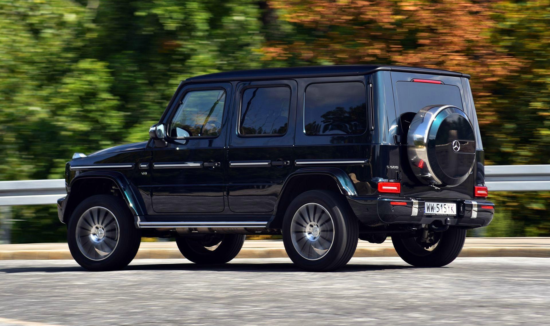 Mercedes G 500 - dynamiczne