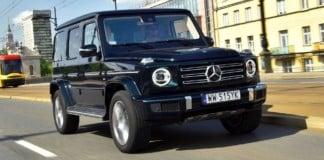 Mercedes G 500 - otwierające