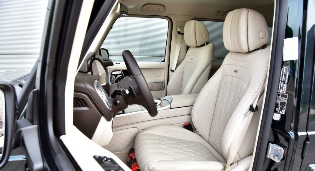 Mercedes G 500 - fotel kierowcy