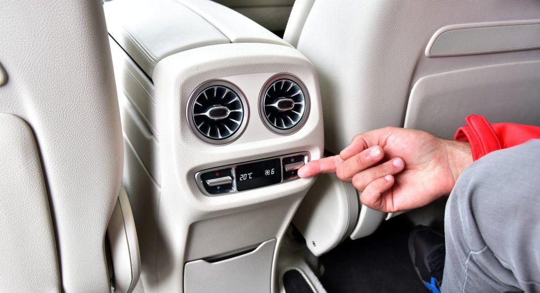 Mercedes G 500 - klimatyzacja