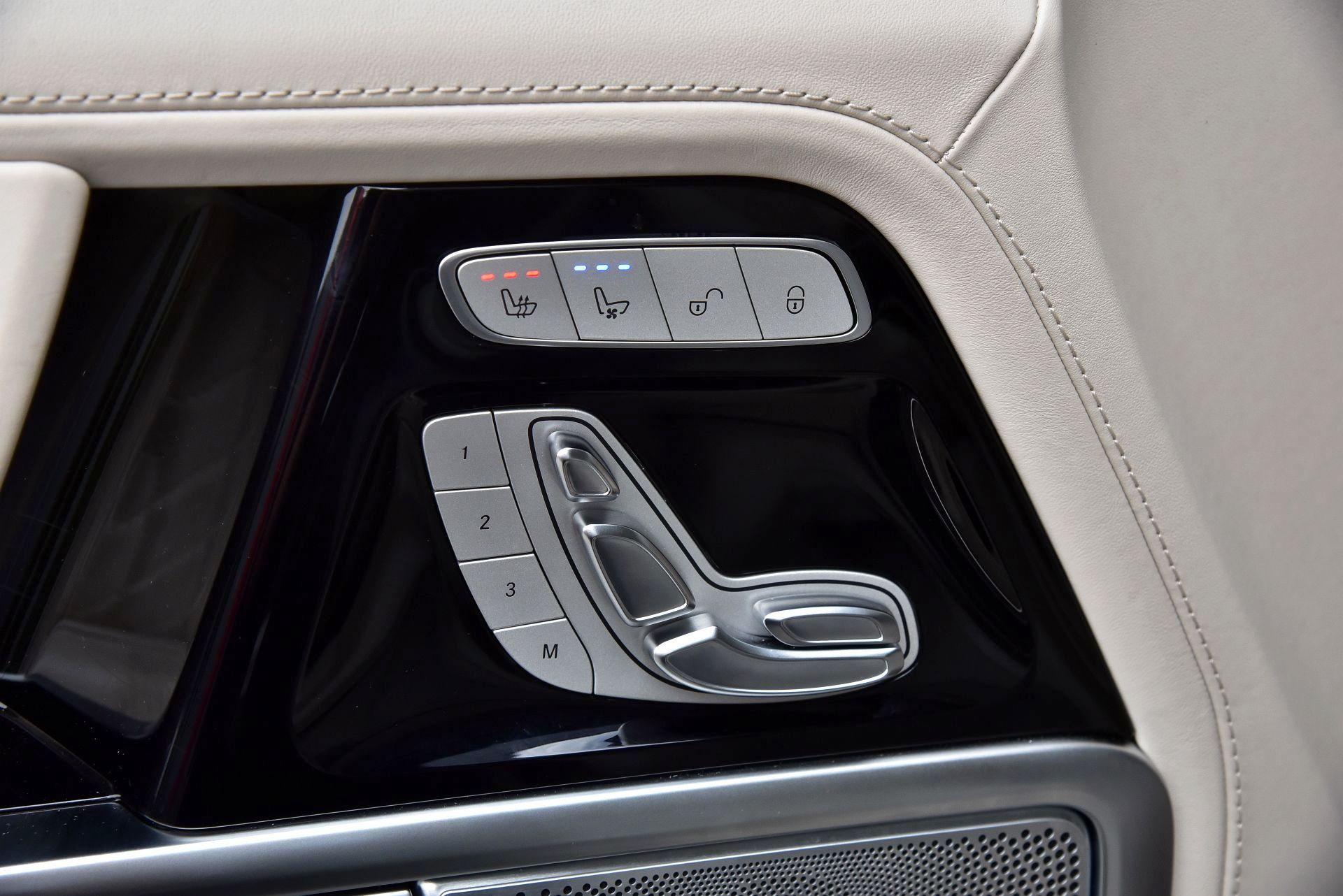 Mercedes G 500 - ogrzewanie foteli