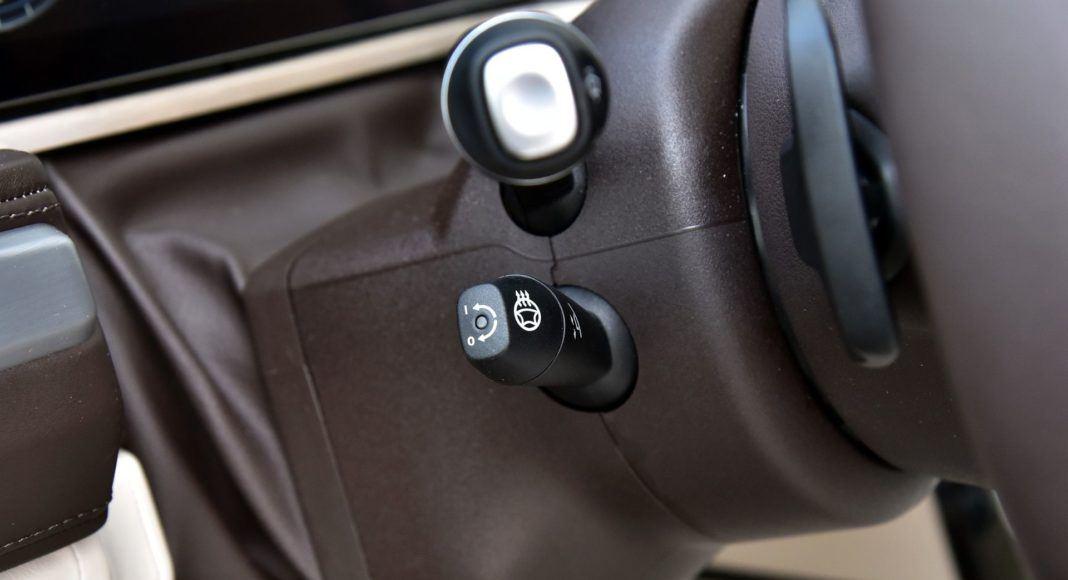 Mercedes G 500 - pokrętło