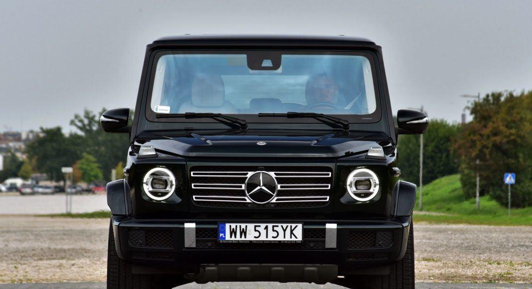 Mercedes G 500 - przód
