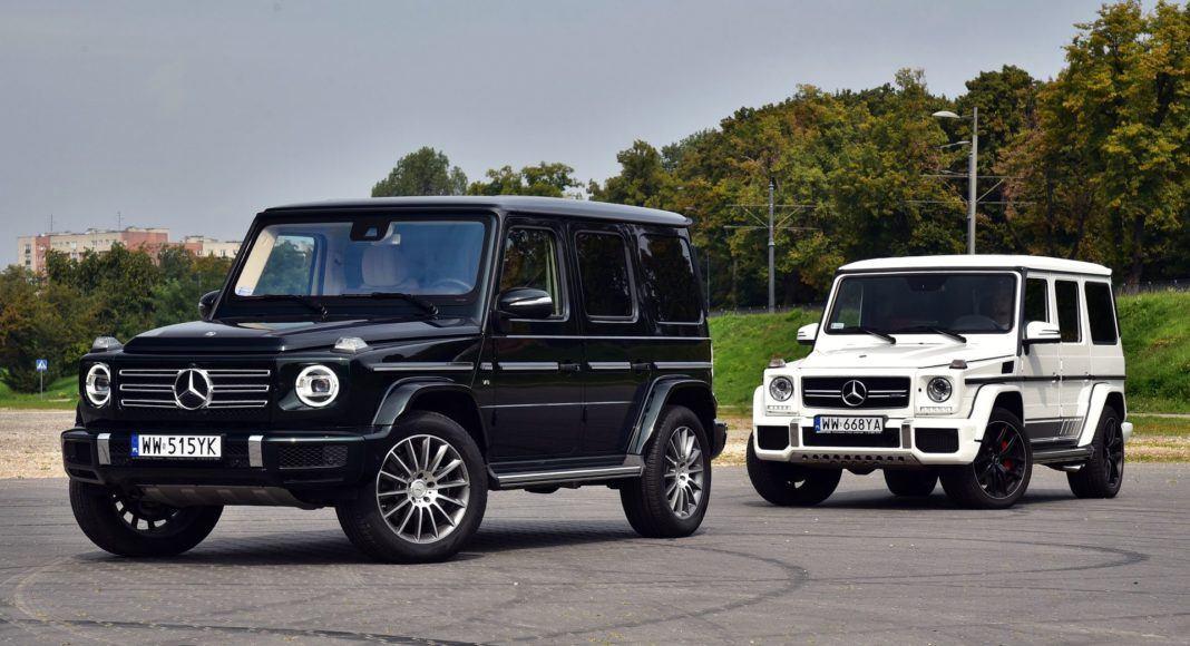 Mercedes G 500 W464 i G W463
